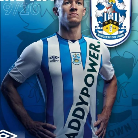 FA has fined Huddersfield because of PaddyPower logo
